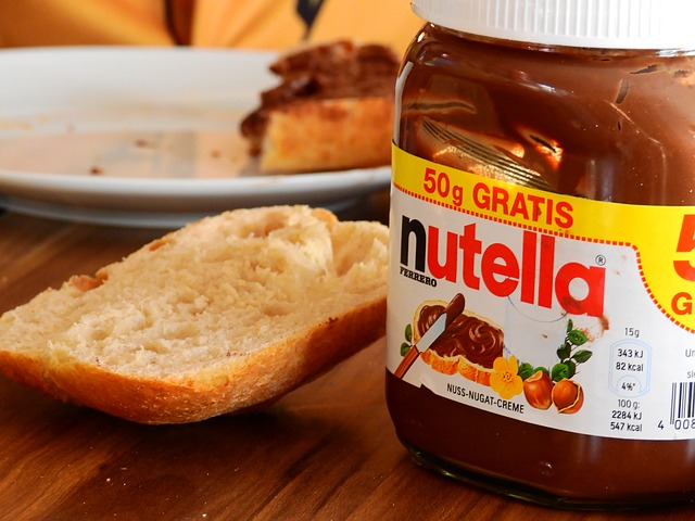 how to melt nutella items needed