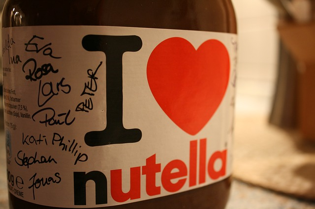 melt nutella items needed