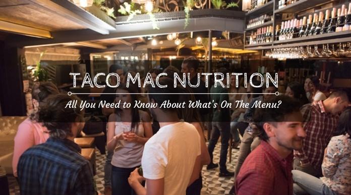 taco mac nutrition
