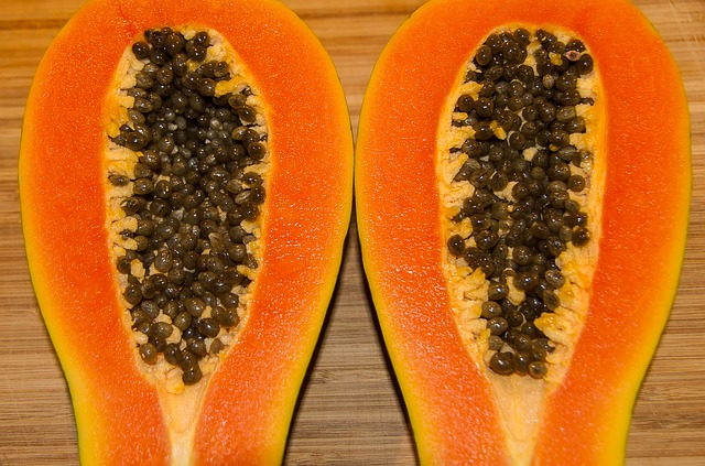 the taste of papaya
