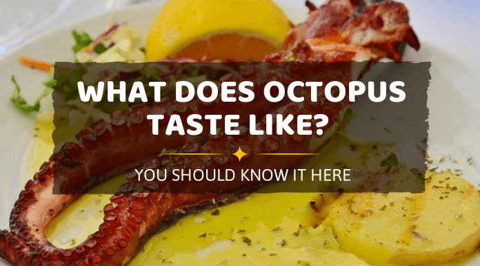 what does octopus taste like